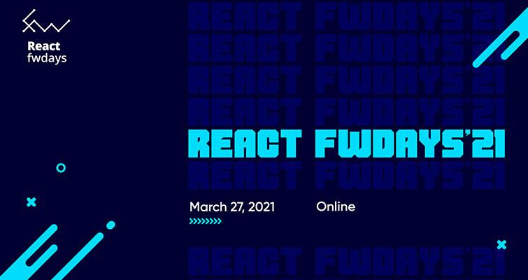 Онлайн-конференция React fwdays'21