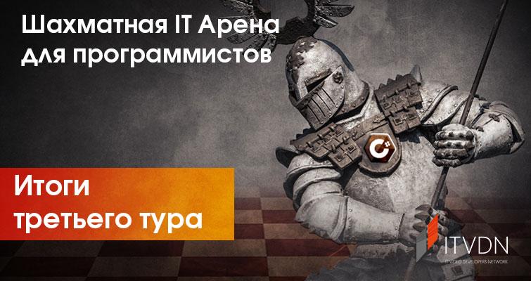Итоги третьего тура Шахматной IT Арены для программистов