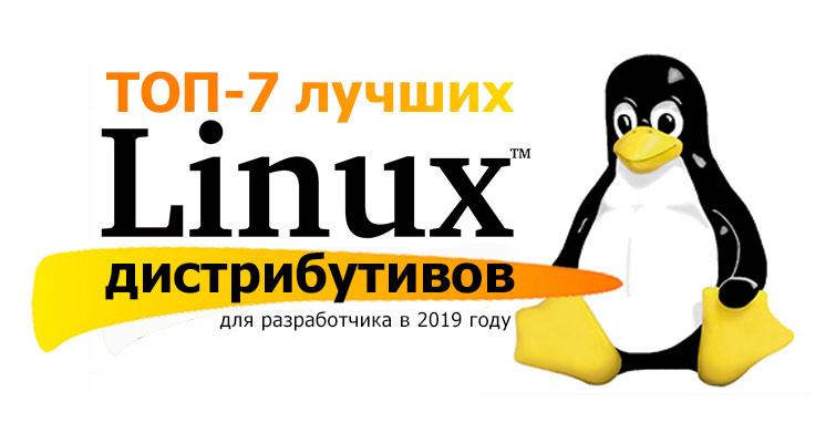 ТОП-7 лучших Linux дистрибутивов для разработчика в 2019 году