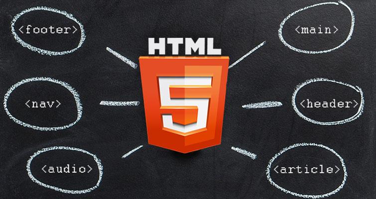 Правила применения основных тегов HTML5