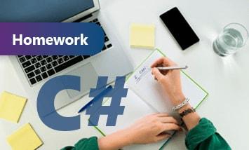 Курс Выполнение домашнего задания по курсу C# Базовый