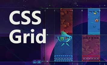 Верстка сайта на CSS Grid