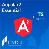 Иконка курса  Видео курс Angular2 Essential