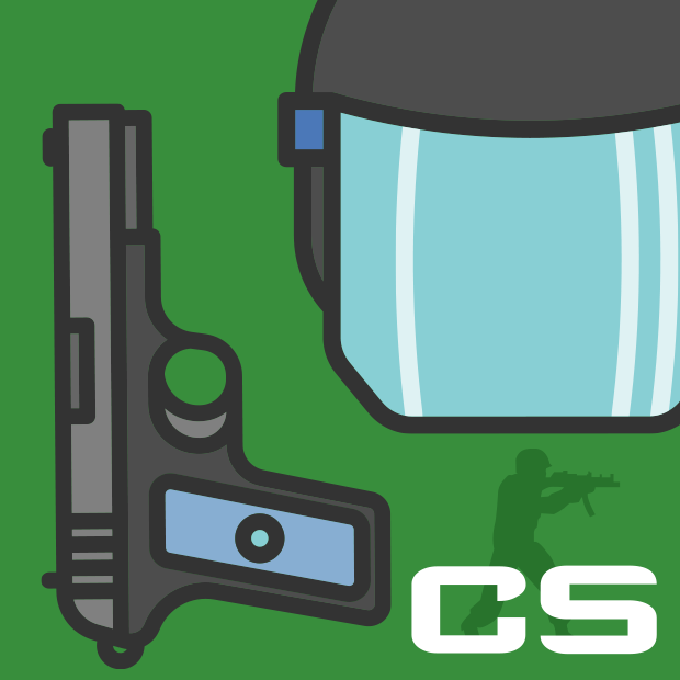 Иконка курса Создание Counter Strike. Сетевой FPS shooter на Unity3D.
