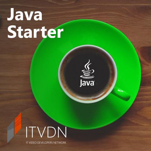 Иконка курса How to Java Starter