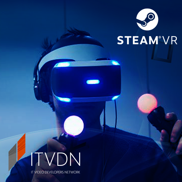 Иконка курса Разработка игр для Steam VR c использованием PlayStation VR