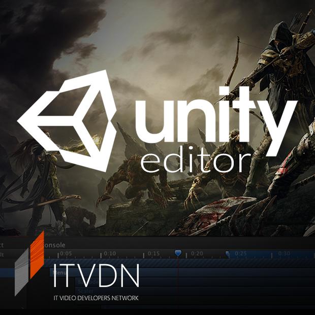 Иконка курса UnityEditor. Примеры для сетевых игр.