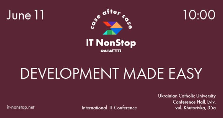 Изображение к IT NonStop во Львове