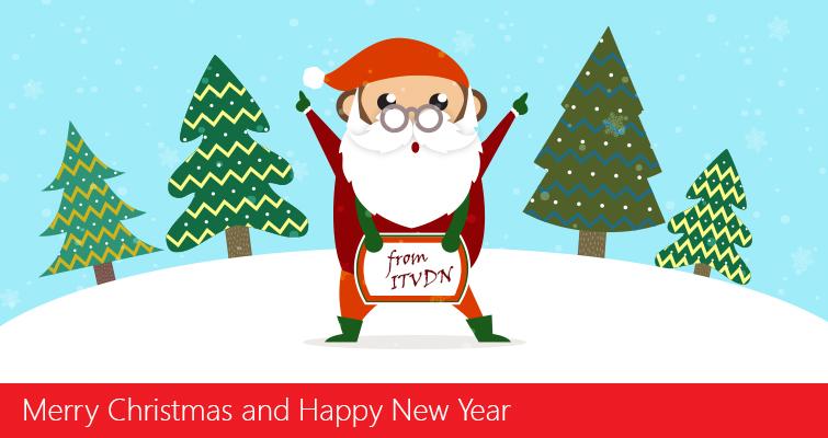 ITVDN поздравляет вас с наступающим Новым годом и Рождеством