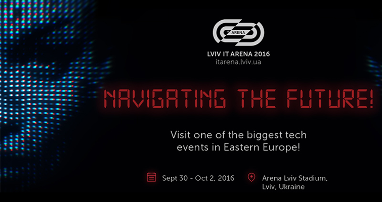 Lviv IT Arena 2016