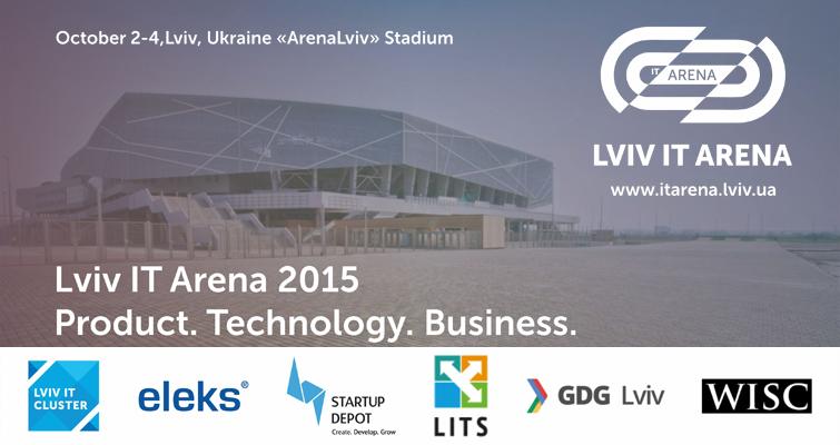 Lviv IT Arena 2015 Одна из крупнейших ИТ конференций Украины