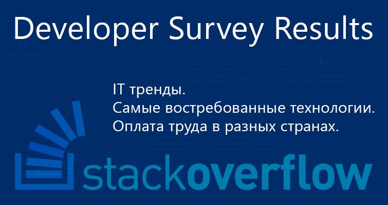 Stack Overflow – Developer Survey Results 2016 - видеокурсы ITVDN