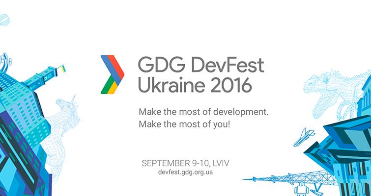 Изображение к Google в Украине - GDG DevFest Ukraine 2016.