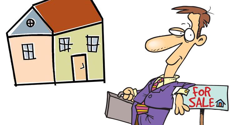 Карикатура на продажника