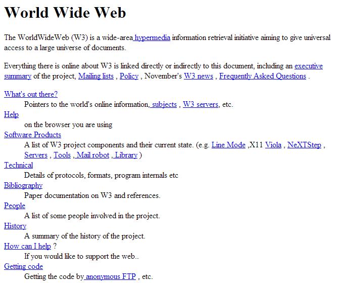 Первый веб-сайт