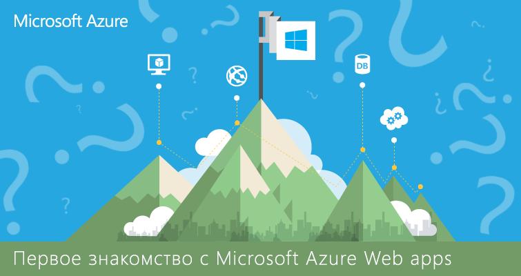 Первое знакомство с Microsoft Azure Web apps