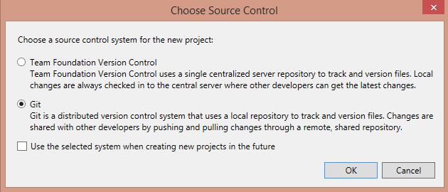 Окно Source Control