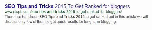 Пример оптимизации title